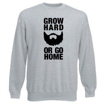 Grow hard or go home Sweatshirt Herren