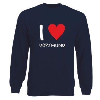 Dortmund Sweatshirt Herren - I Love Dortmund
