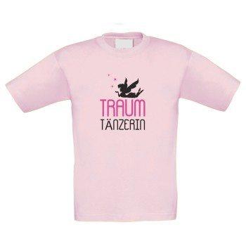 Traumtänzerin - Kinder T-Shirt - rosa