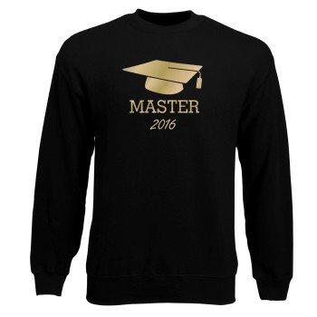 Master Abschluss Sweatshirt Herren 2016