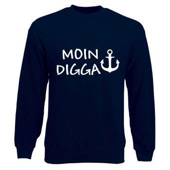 Hamburg Sweatshirt Herren - Moin Digga