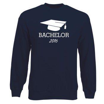 Sweatshirt Bachelor Abschluss 2016 - Herren