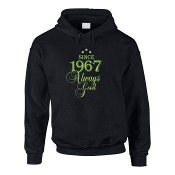 Since 1967 Always Good – Herren Hoodie - schwarz