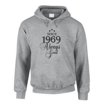 Since 1969 Always Good – Herren Hoodie - grau