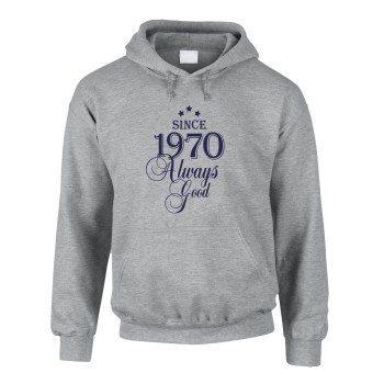 Since 1970 Always Good – Herren Hoodie - grau