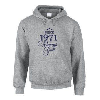 Since 1971 Always Good – Herren Hoodie - grau
