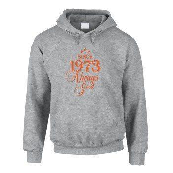 Since 1973 Always Good – Herren Hoodie - grau