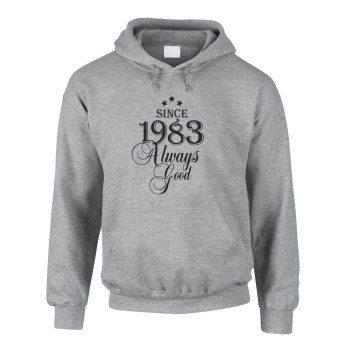 Geburtsjahr 1983 - Herren T-Shirt - Since 1983 Always Good - grau