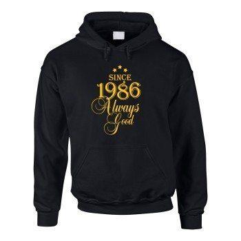 Jahrgang 1986 - Since 1986 Always Good – Herren Hoodie