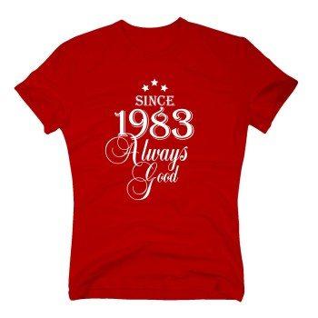 Geburtsjahr 1983 - Herren T-Shirt - Since 1983 Always Good