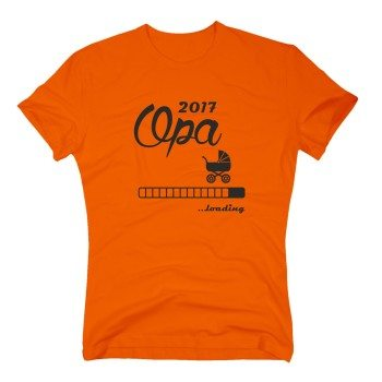 Opa loading 2017 - Herren T-Shirt - shirtdepartment