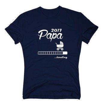 Papa loading 2017 - Herren T-Shirt