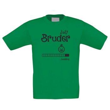 Bruder Loading 2017 - Kinder T-Shirt - Familienzuwachs - 100% Baumwolle - T-Shirtfarbe variabel - schneller Versand in 24 Stunden