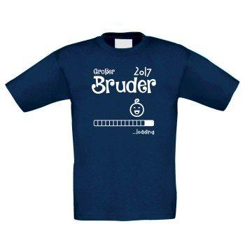 Großer Bruder Loading 2017 - Kinder T-Shirt