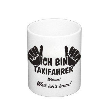 Ich bin Taxifahrer Kaffeebecher