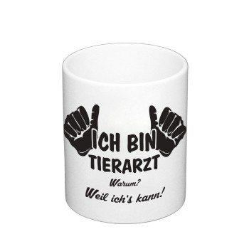 Ich bin Tierarzt - Kaffeebecher