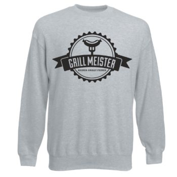 Grillmeister - Keiner grillt feiner - Herren Sweatshirt