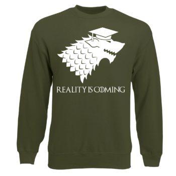 Game of Thrones Sweat Shirt - Herren - Reality is coming