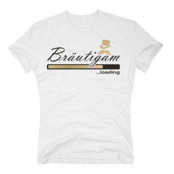 Bräutigam loading - Herren T-Shirt - von SHIRT DEPARTMENT