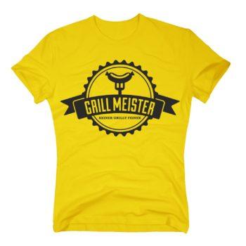 Grillmeister T-Shirt Herren - Keiner grillt feiner