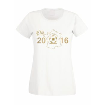 EM 2016 Damen T-Shirt - Vive la Difference