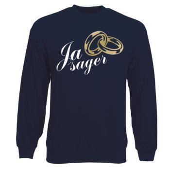 Junggesellen Sweatshirt Herren - Ja Sager