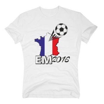 EM 2016 Herren T-Shirt - Frankreich Flagge