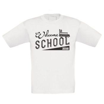 Geschenk zur Einschulung - Kinder T-Shirt - Welcome to school 2016