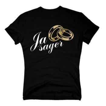 Junggesellen T-Shirt Herren - Ja Sager
