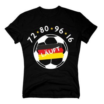 EM 2016 Herren Fan T-Shirt - läuft 72, 80, 96, 16