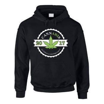 Abipullover - Cannabis - wir haben es durchgezogen - Abitur 2017 - Herren Hoodie