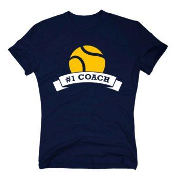 Trainer Geschenk - Herren T-Shirt - Number One Coach