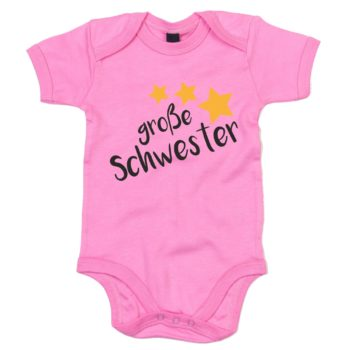 Baby Body - Große Schwester - Sterne