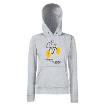Damen Hoodie - Tour de France - Partageons la Passion