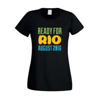 Damen T-Shirt - Ready for Rio 2016