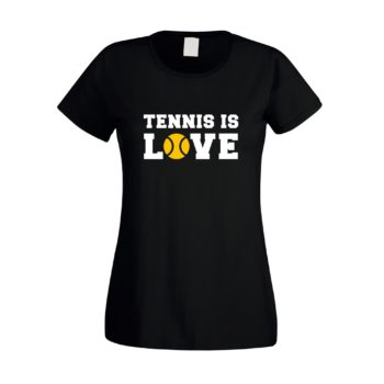Tennis is Love - Damen T-Shirt