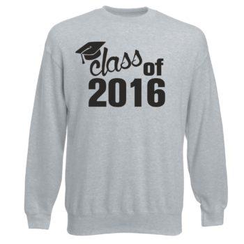 Abschluss Sweatshirt - Herren - Class of 2016