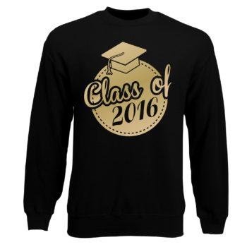 Herren Sweatshirt - Class of 2016 - Siegel Abitur
