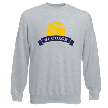 Herren Sweatshirt - Number One Coach