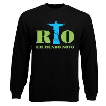Herren Sweatshirt - Rio 2016 - Um mundo novo