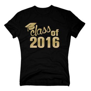 Abschluss T-Shirt - Herren T-Shirt - Class of 2016