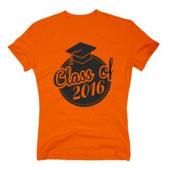Herren T-Shirt - Class of 2016 - Siegel Abitur