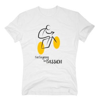 Herren T-Shirt - Tour de France - Partageons la Passion