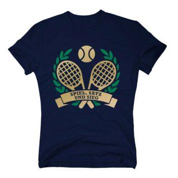 Spiel Satz und Sieg - T-Shirt Herren - Tennis