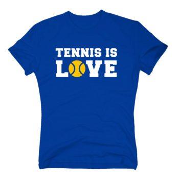 Tennis T-Shirt Herren - Tennis is Love