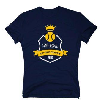 The King of the Court 2016 - Herren T-Shirt dunkelblau