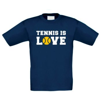 Tennis T-Shirt Kinder - Tennis is Love