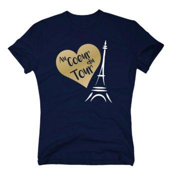 Radsport Herren T-Shirt - Au Coeur du Tour