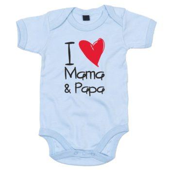 Baby Body - I love Mama & Papa