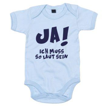 Baby Body - Ja! Ich muss so laut sein